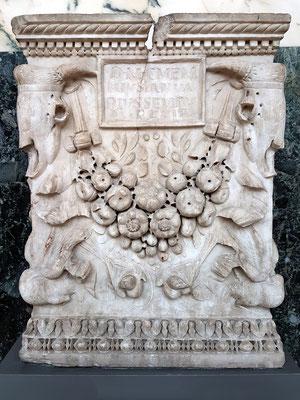 Graburne von Memmius Ianuarius aus Rom, 25-50 n.Chr., Marmor