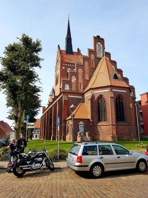 Usedom, Stadtkirche St. Marien, Ostseite