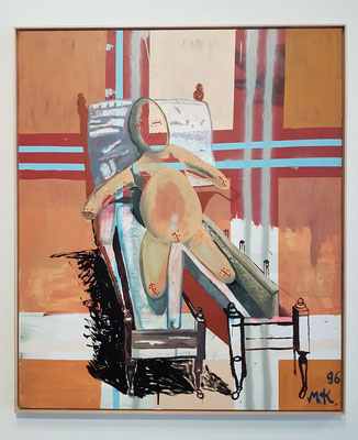 Martin Kippenberger (1953-1997, Deutschland): Ohne Titel (Sick Egg Child), 1996
