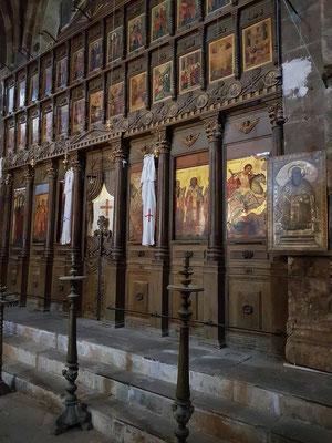 Ikonenwand in der Klosterkirche