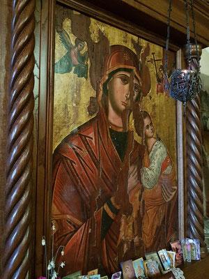 Ikone der Mutter Maria in der Kirche Praskvica