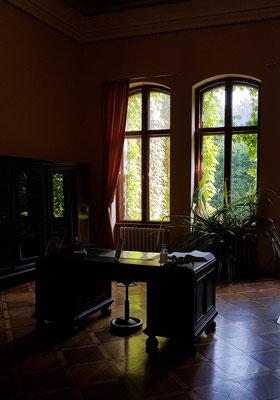 Rezeption des Hotels Schloss Neetzow