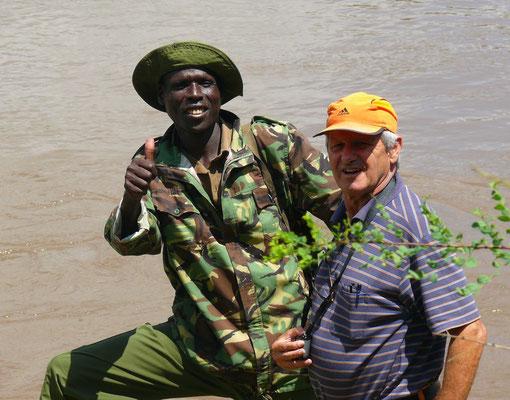 Ranger im Masai Mara Wildreservat
