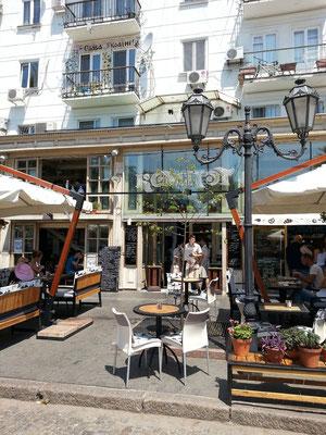Restaurant Kompot, Derybasivs'ka Street