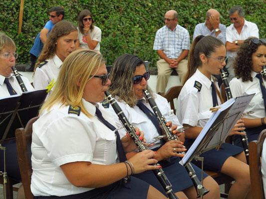 Dorffest in Salao, Klarinettenspielerinnen