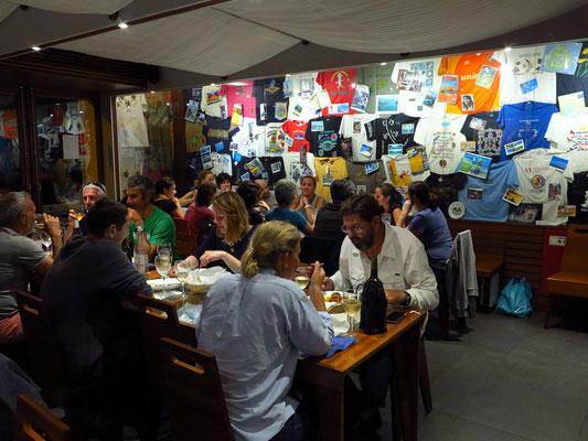 Im vorzüglichen Genuíno Restaurante zum Dinner