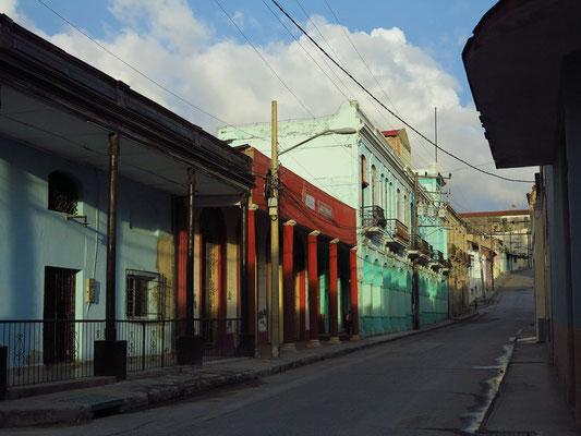 Calle Francisco Vicente Aliguera (Blick nach Osten)