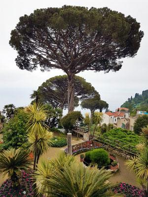 Villa Rufolo, Gärten.