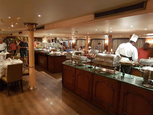 Speisesaal auf Deck 1