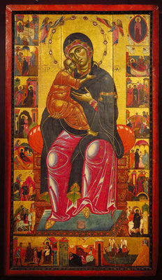 Thronende Madonna mit Kind, 1260 - 1276