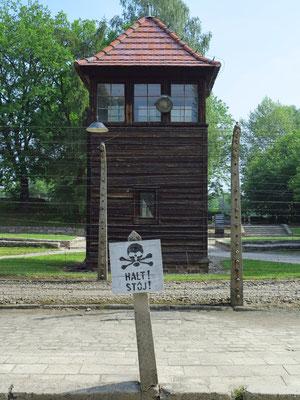 Wachturm im Stammlager I