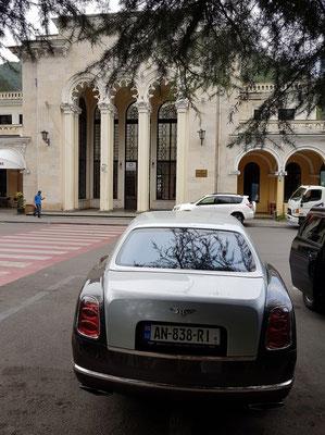 Bahnhof Borjomi im Jugendstil