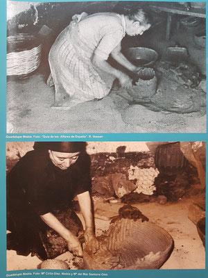 Keramikerin Guadalupe Niebla Chinea in El Cercado