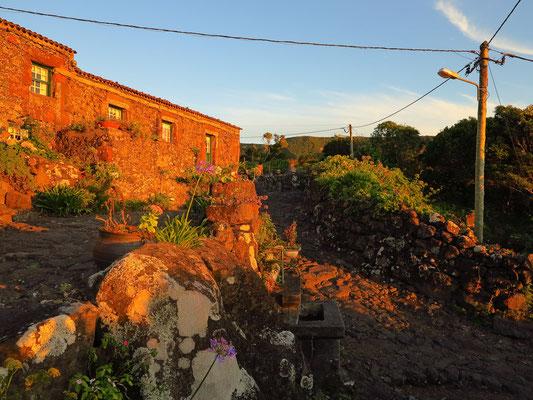 Aldeia da Cuada bei Abendsonne