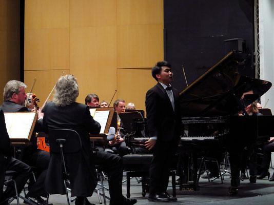 Applaus für George Li nach dem Tschaikowsky-Klavierkonzert
