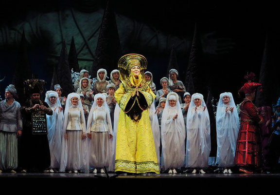 Stanislawski-Musiktheater, Aladino e la lampada magica, Applaus: die Frau des Sultans