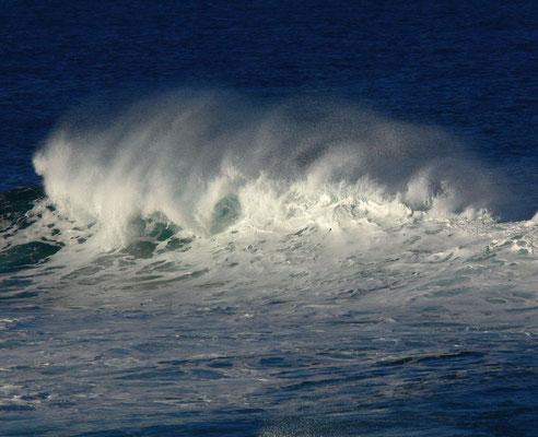 Wind und Wellen an der Playa de Valle Gran Rey