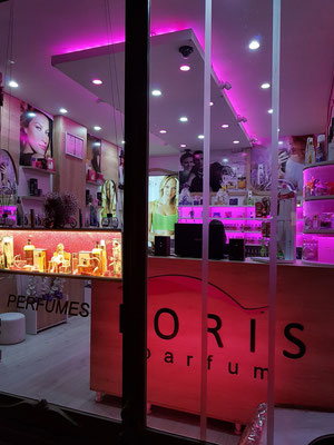 Parfum-Geschäft in der Rustaveli Avenue