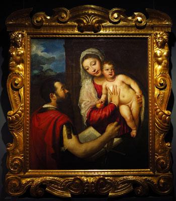 Tizian: Jungfrau mit Kind und St. Paul, um 1540