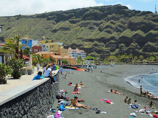 Strand von Puerto de Tazacorte