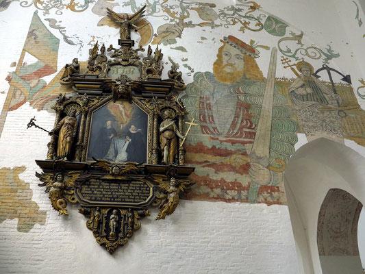 Freskengemälde im Dom