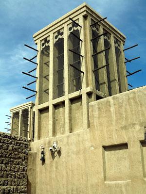 Windturm, die klassische arabische Klimaanlage