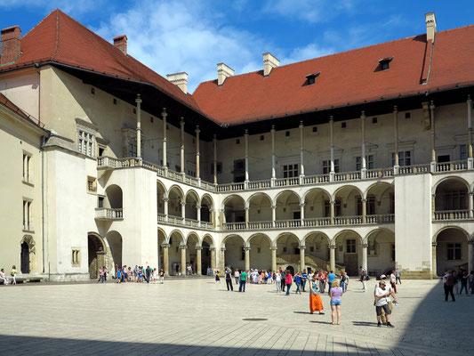 Arkadenhof des Wawelschlosses