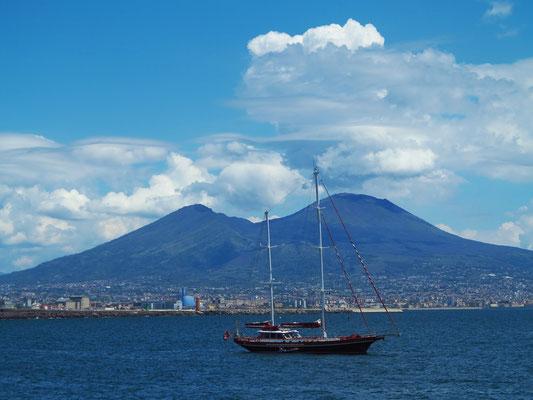 Napoli mit Vesuv
