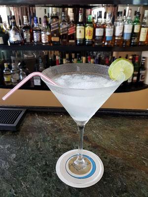 Mein Daiquiri-Cocktail an der Lobby Bar, wo früher berühmte Schauspieler und Mafia-Größen ihre Drinks genossen haben