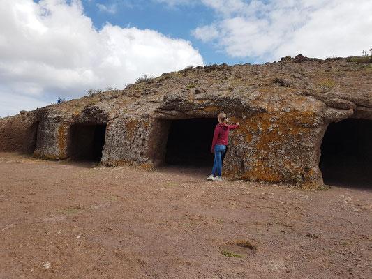 """Cuatro Puertas bei Telde, """"archäologische Stätte"""" als Kulturdenkmal"""
