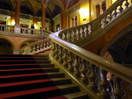 Ungarische Staatsoper, Treppenhaus
