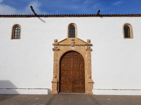 Betancuria, Iglesia de Santa María Betancuria, Barockes Portal