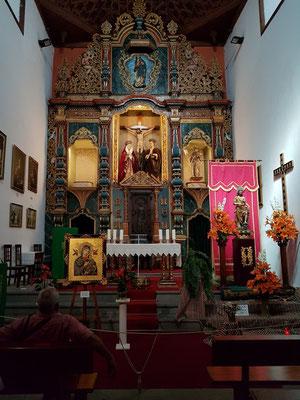 Puerto de la Cruz, Iglesia de San Francisco, Altarraum