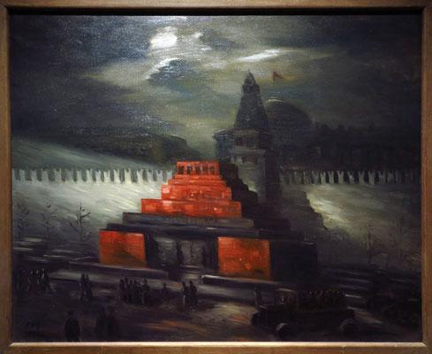 """Frans Masereel (1889 - 1972): """"Roter Platz"""", 1935"""