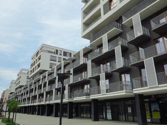 Neue Wohnbebauung Ul. Tadeusza Romanowicza