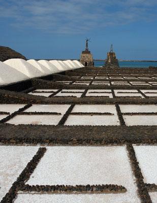 Salinen an der Playa de Janubio