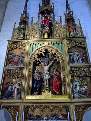 Altar im Martinsdom