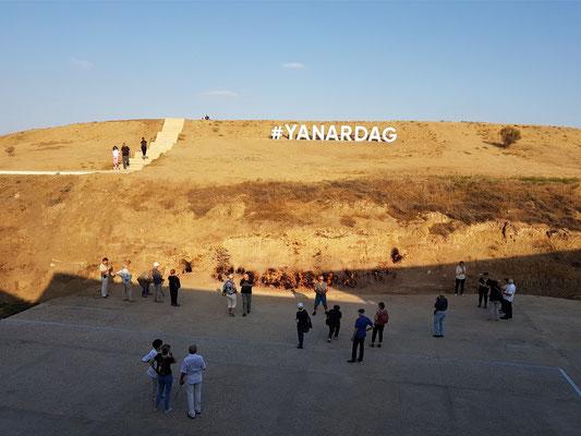 Yanardag (brennender Berg) bei Baku
