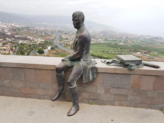Mirador Humboldt mit Blick auf das Tal von Orotava