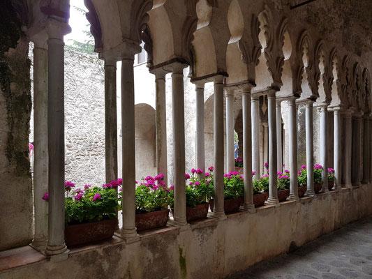 Villa Rufolo, Eingangsbereich