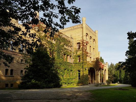 Hotel Schloss Neetzow, Eingang