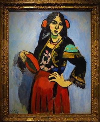 """Henri Matisse (1869 - 1954): """"Spanierin mit Tambourin"""", 1909"""
