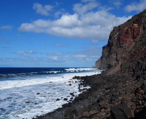 Valle Gran Rey, Playa del Inglés, Blick nach N