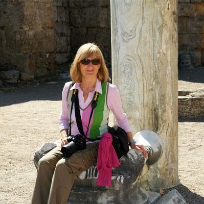 Antike Stadt Perge. Letzte Aufnahme von Almut von einer unserer vielen Reisen (26.3.2011)
