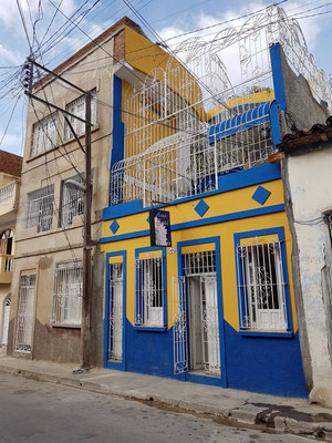 Unser Hostal Girasol in Santiago de Cuba, Calle Santa Rita