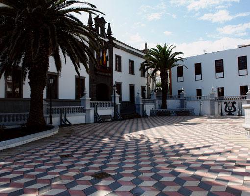 Valverde, Rathaus im altkanarischen Stil