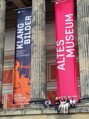 Altes Museum, Säulen