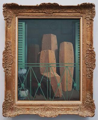 René Magritte (1898 - 1967), Perspektive II. Der Balkon von Manet, 1950