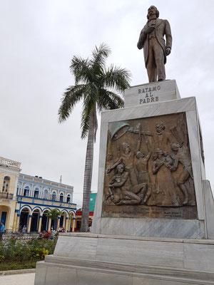 Bayamo, Denkmal für Carlos Manuel De Céspedes im Parque Céspedes