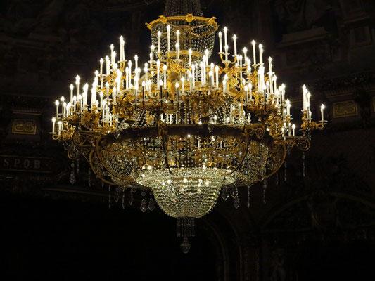 Kristallleuchter im Großen Saal